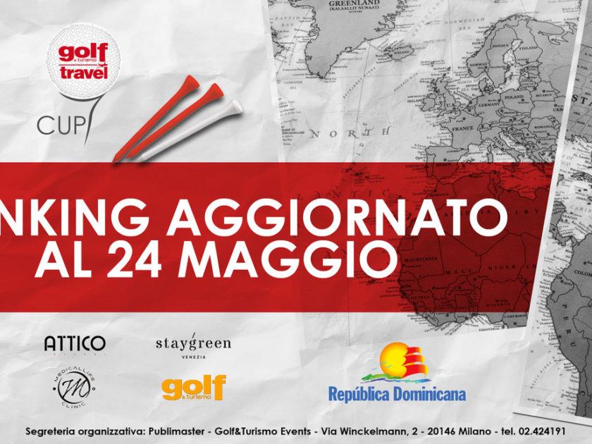 Golf & Turismo Travel Cup: aggiornamento del Ranking al 24 maggio