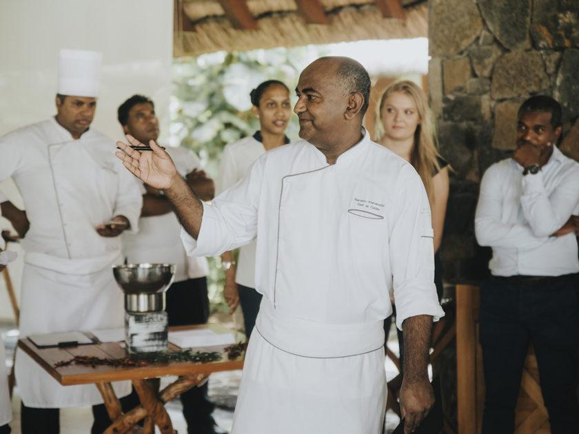 Alta cucina a Mauritius