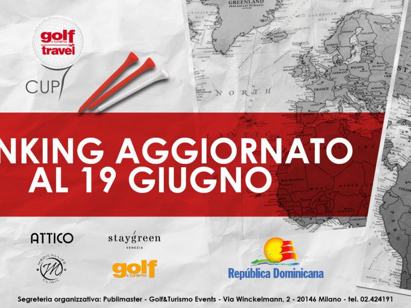 Golf & Turismo Travel Cup: aggiornamento del Rankikng al 19 Giugno 2018