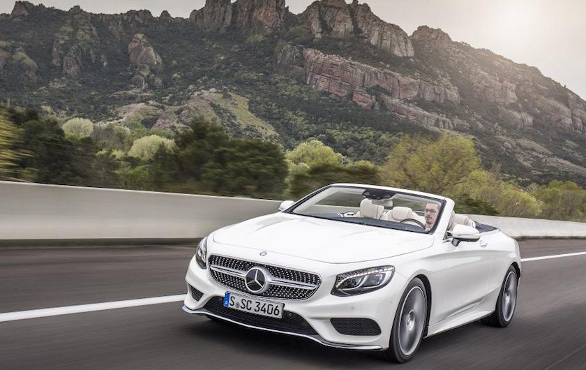 Mercedes-Benz: una cabrio da sogno