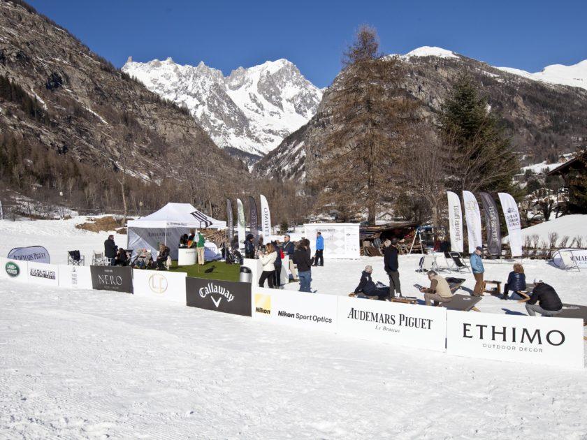 Audemars Piguet Snow Golf Exhibition a Courmayeur