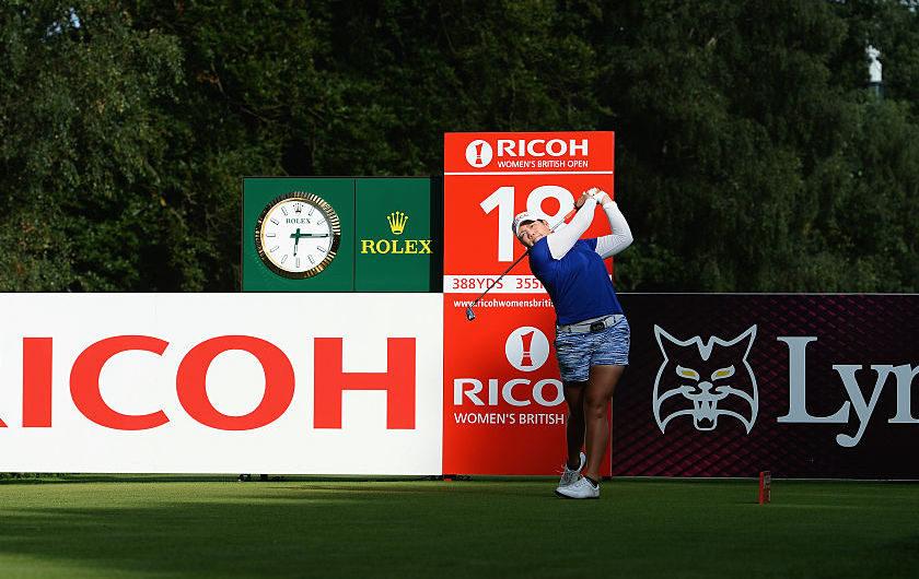 Women's British Open: première tailandese