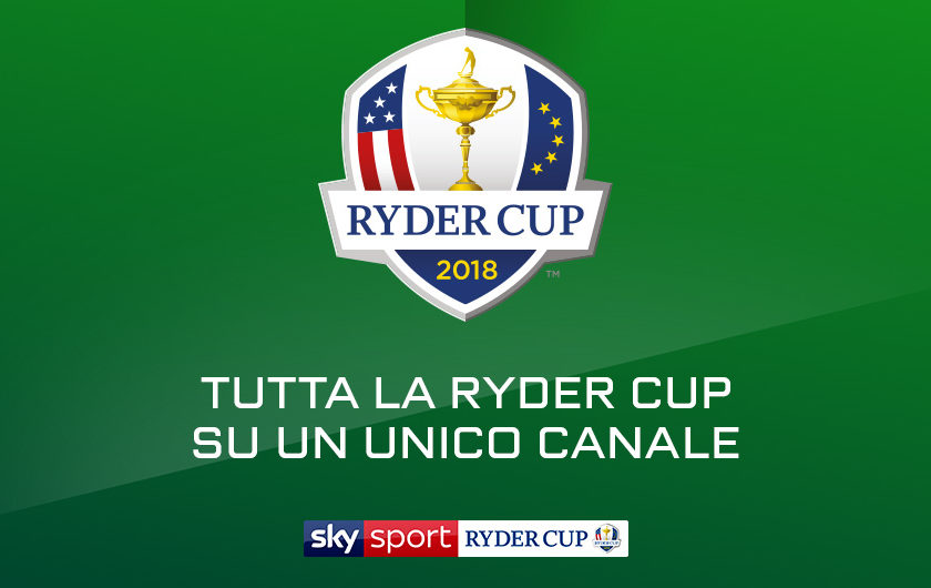 La Ryder Cup su Sky