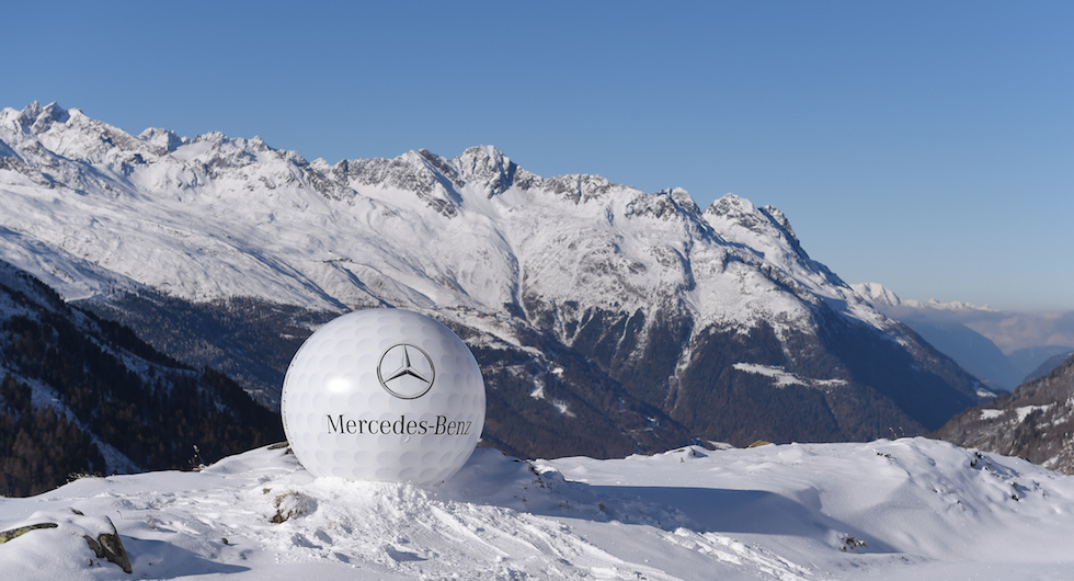 Mercedes-Benz GLS Press Test Drive (PTD) - Golf, Hochgurgl /Timmelsjoch, Oesterreich, 28.11.2015