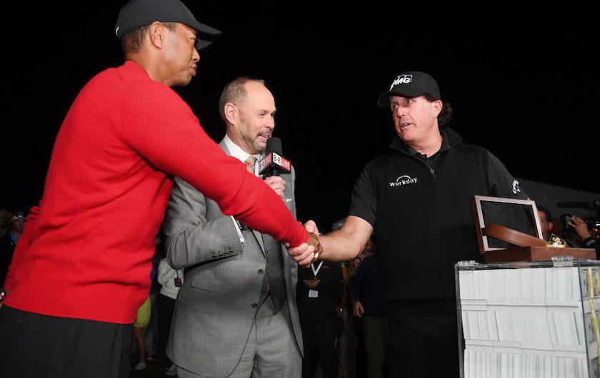 A Las Vegas Phil vince <br/>il duello con Tiger