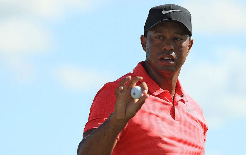 Tiger Woods: è ora <br/>di modificare le palline