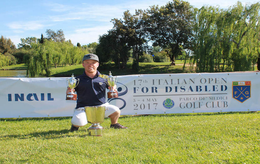 Lo svedese Joakim Bjorkman Campione dell'Italian Open for Disabled