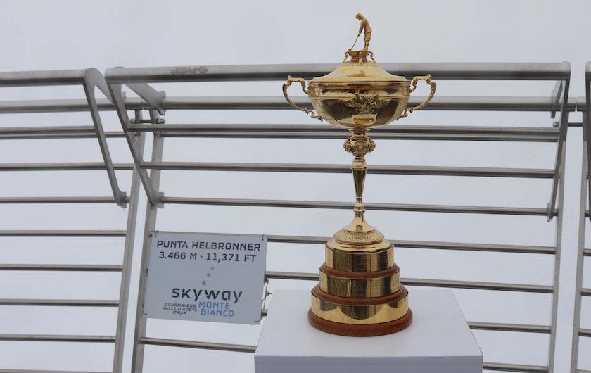 La Ryder Cup sul Monte Bianco