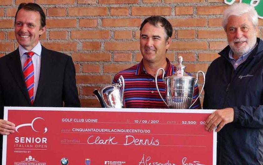 Senior Tour: a Udine successo di Clark Dennis