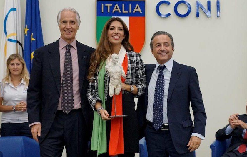 Mecenate dello Sport a Lavinia Biagiotti