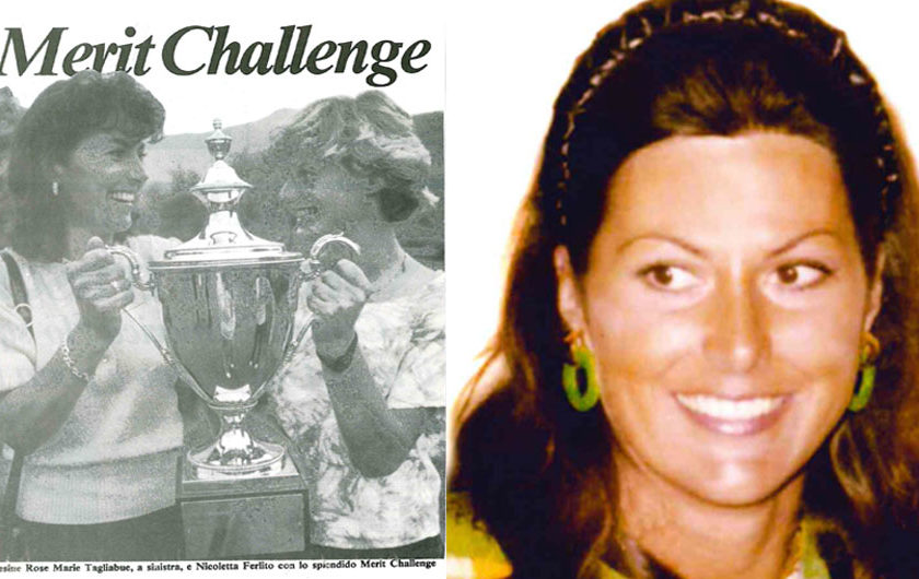 Rosemary Faraone Tagliabue: Ciao campionessa