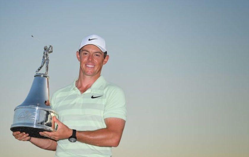 PGA Tour: al Palmer <br/>super McIlroy, Woods 5°