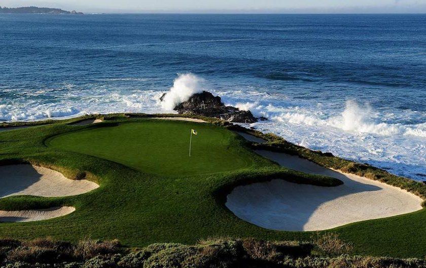 PGA Tour: Ted Potter Jr <br/>vince a Pebble Beach