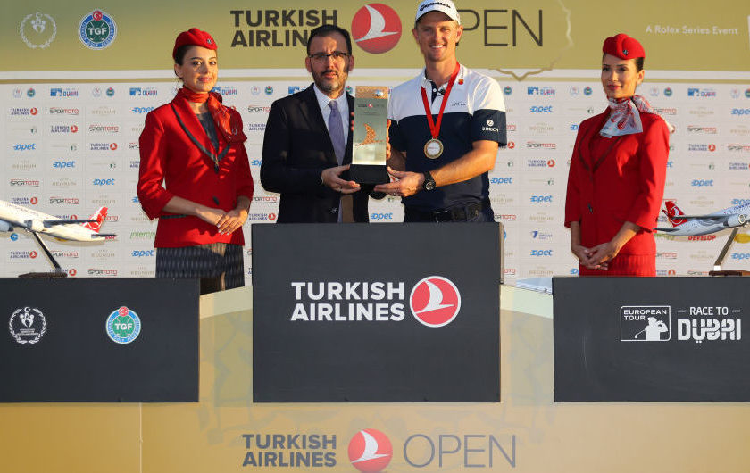 EuroTour: a Justin Rose <br/>il Turkish Open