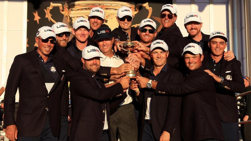 Ryder Cup: 17 a 11 per gli Stati Uniti