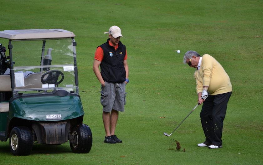 Azzurro anche il grande golf blind