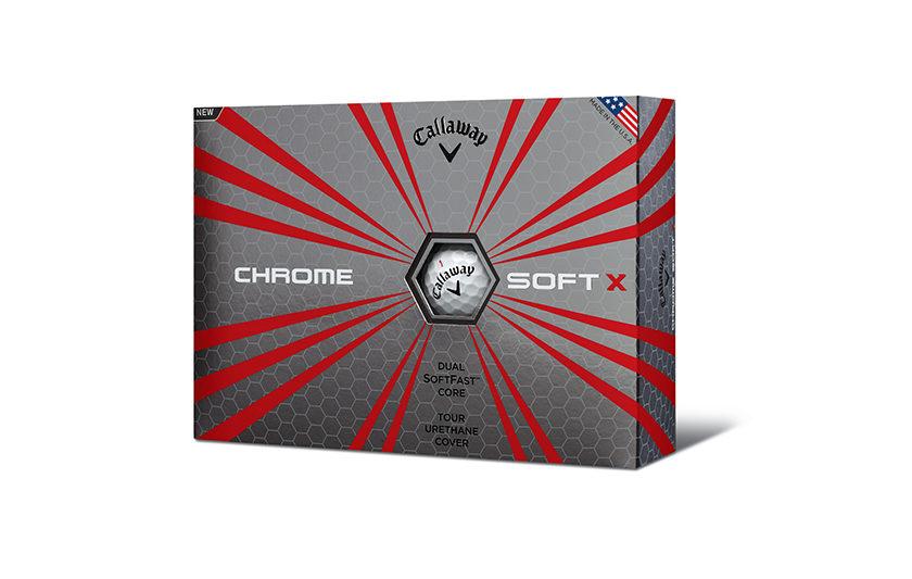 Chrome Soft X, ultima nata in casa Callaway