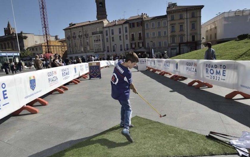 A Monza domenica <br/>con &#8220;Golf in Piazza&#8221;