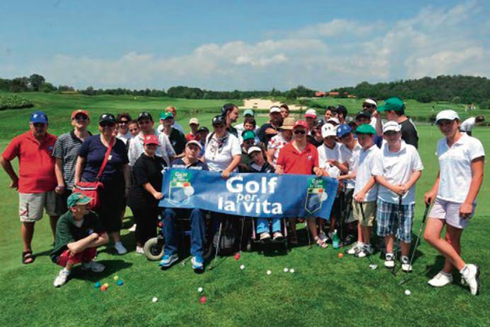 Golf per la Vita a La Pinetina