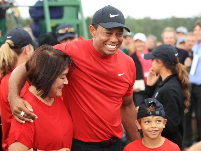 """Tiger: """"Tutto questo è per i miei figli"""""""