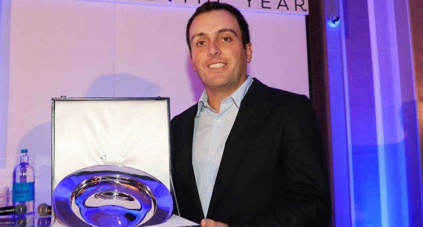 Francesco Molinari giocatore dell'anno