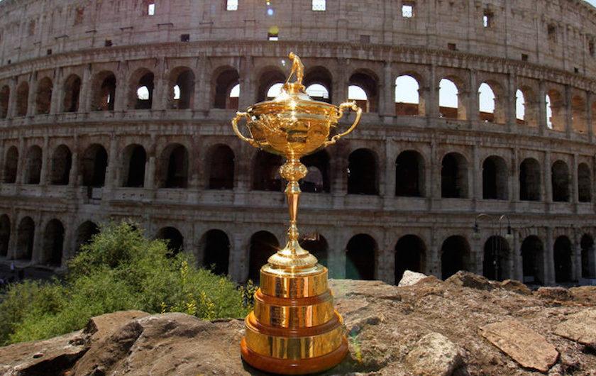 Risultati immagini per ryder cup rome colosseo