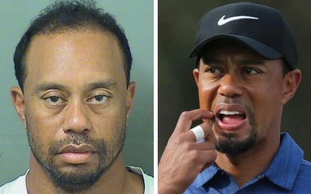 Tiger Woods arrestato