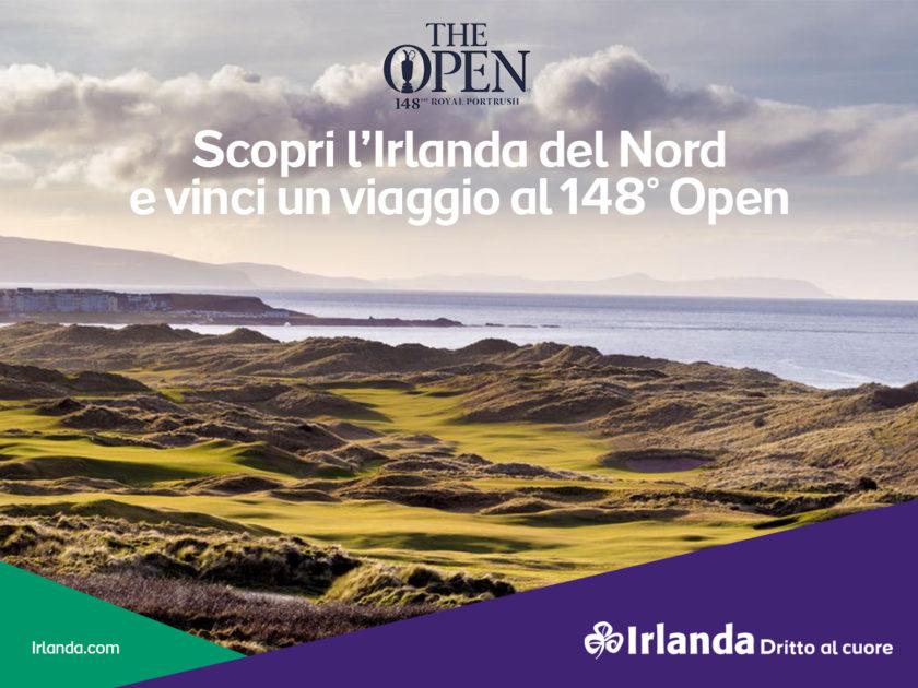 Scopri l'Irlanda del Nord e vinci un viaggio al 148° Open