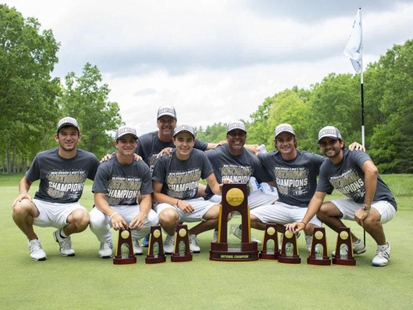 Giovanni Manzoni ha vinto il NCAA Division II Men's Golf Championship
