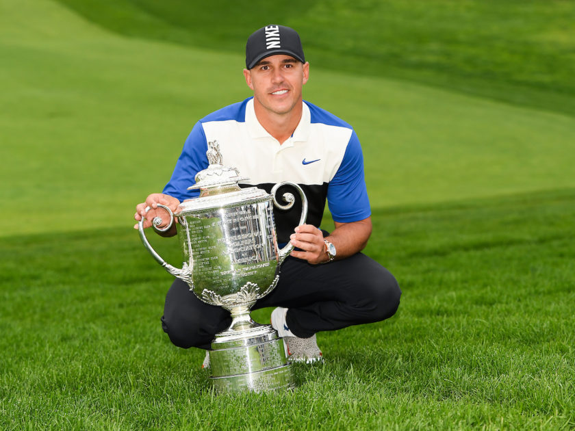 Koepka trionfa nel PGA Championship ed entra nella storia