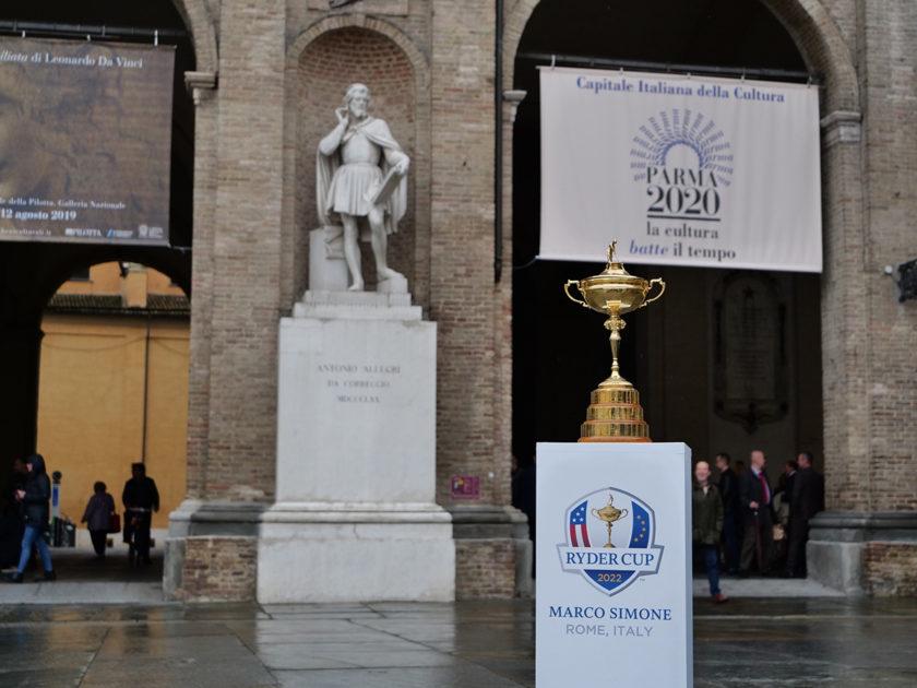 Il fascino della Ryder Cup a Parma