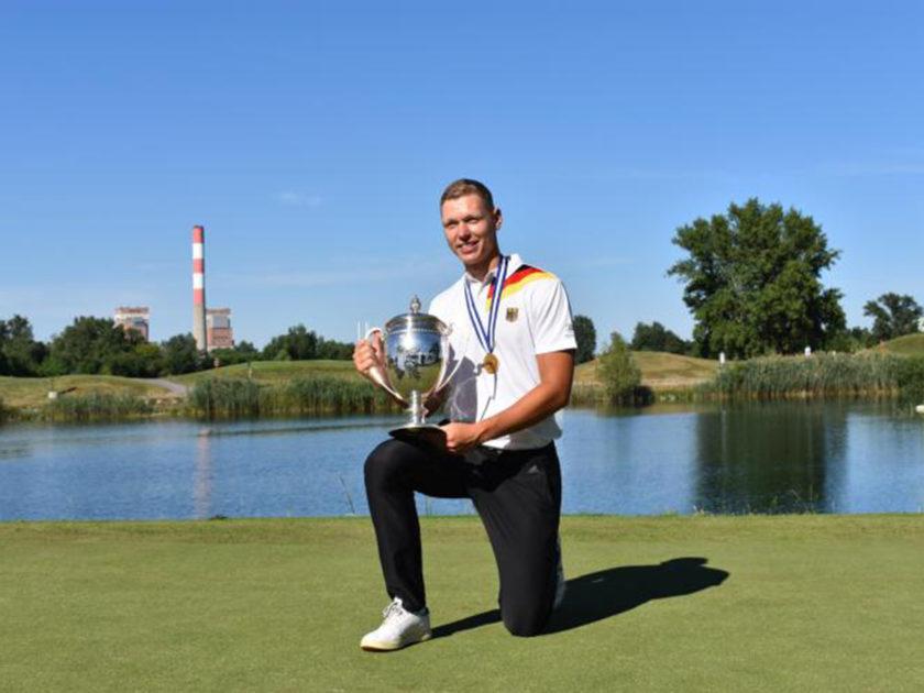 Matthias Schmid vince l'European Amateur Championship; 28° Cristoni