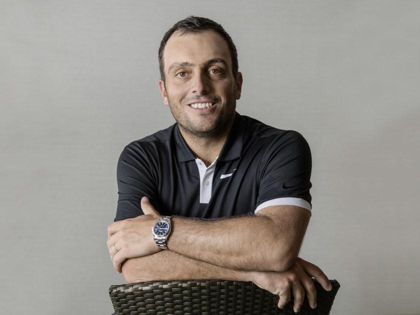 Francesco Molinari nuovo testimonial Rolex