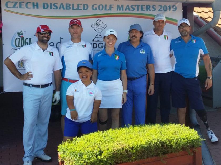 Un'altra bella prestazione dell'Italia al Czech Disabled Golf Masters