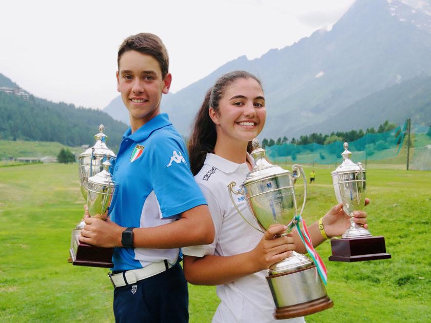 Marco Florioli e Lorena Rossettin hanno vinto i Campionati Nazionali Pulcini e Pulcine