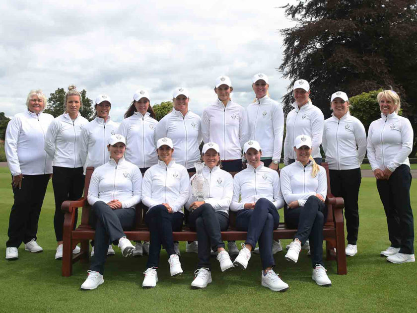 Questo il Team Europa di Solheim Cup