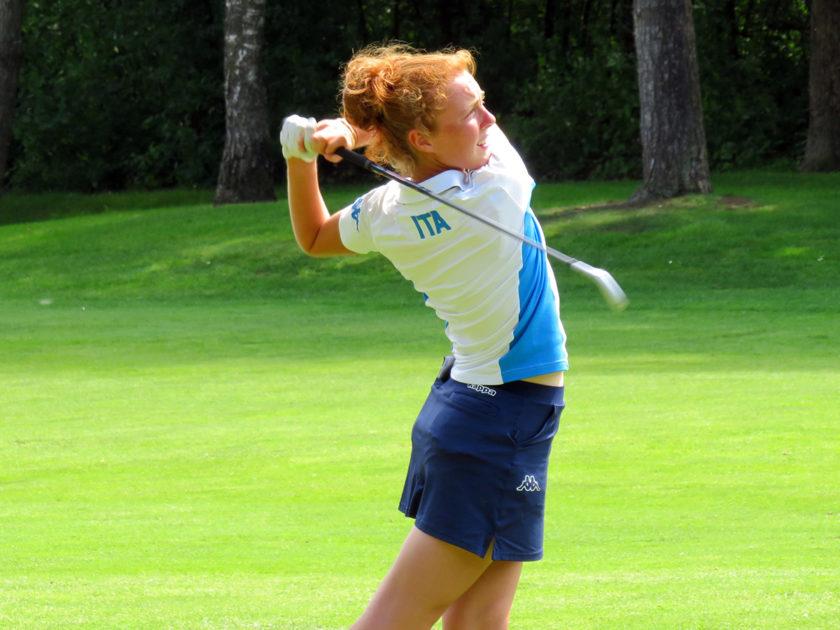 Charlotte Cattaneo leader nell'English Under 16 Girls Championship