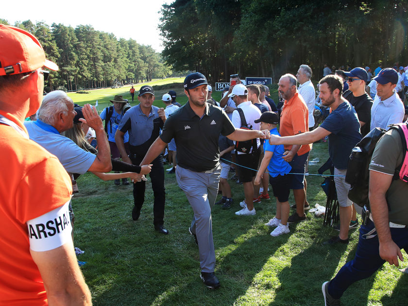 Rahm e Willett per il BMW PGA Championship; Francesco Molinari 9°