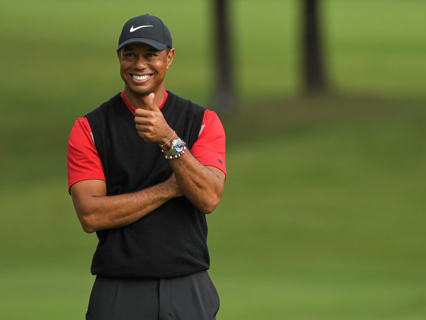 La swing zone di Tiger Woods