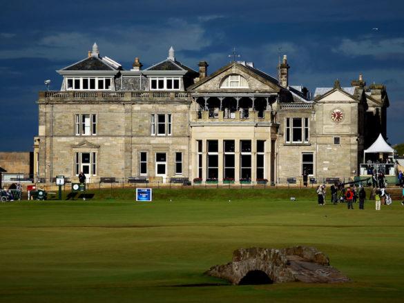 La clubhouse più famosa del mondo, quella dell'Old Course di St Andrews