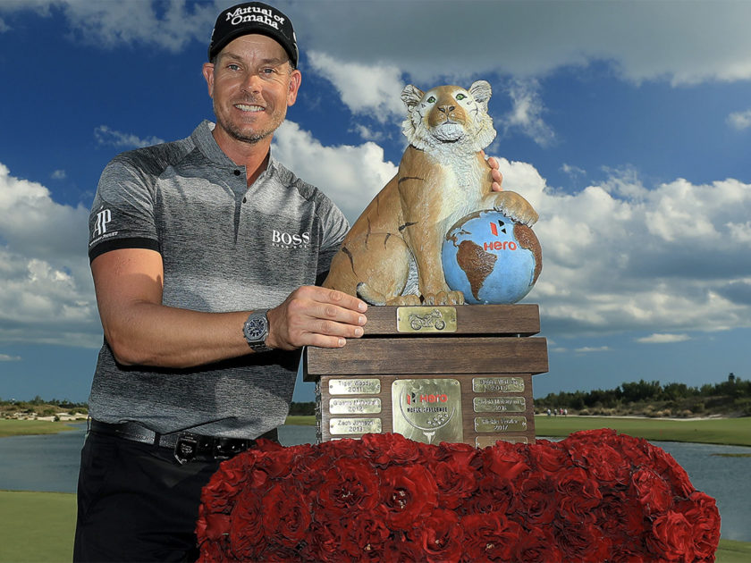 A Henrik Stenson l'Hero World Challenge