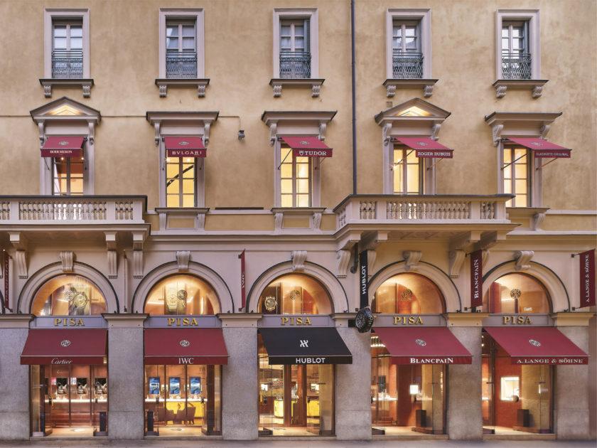 PISA: Il salotto dell'alta orologeria