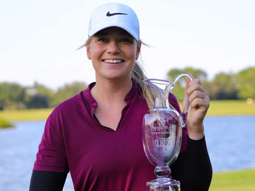 Matilda Castren vince il Mission Inn Championship